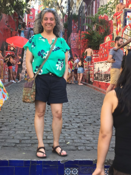 Ashima smiling located in Rio de Janiero