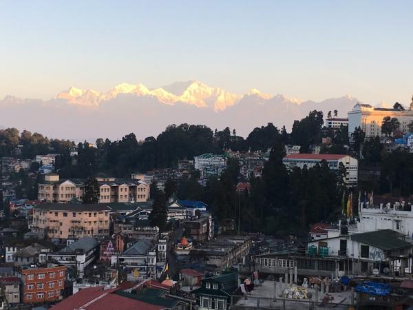 Darjeeling, India Mountains at Dawn