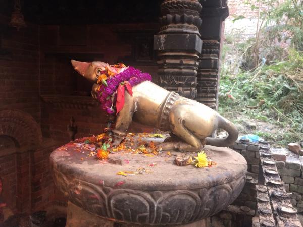 Ganesh Rat statue Bhaktapur, Nepal