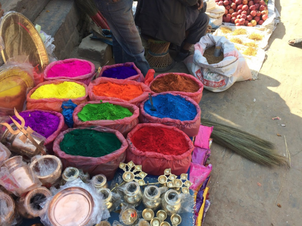 Colored Pigment to be used in making Mandalas