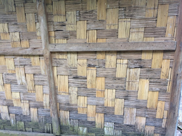 Close up of Himalayan thatch work